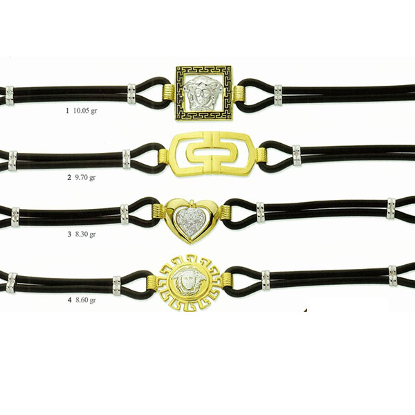 Gold-bracelets-and-leather